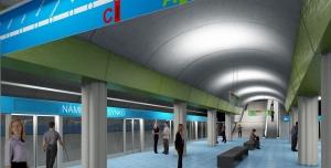Vyhlášení veřejné architektonické soutěže na projekt výstavby metra D