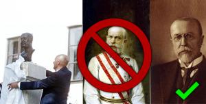Petice za odstranění busty Františka Josefa I. z Pohledi u Světlé nad Sázavou