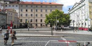 Zachování stromu na Malostranském náměstí