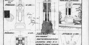 Zachraňte historický meteosloupek v centru Vsetína