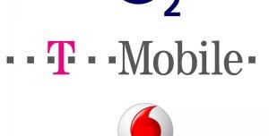 O2+T-Mobile, T-Mobile+Vodafone, Vodafone+O2