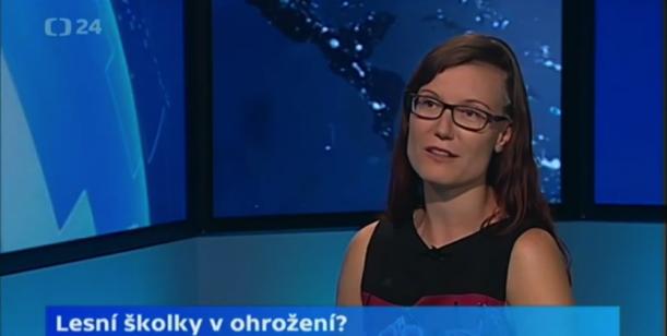 VIDEO: Lesní školky na ČT