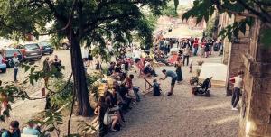 Petice za zkultivování prostoru pod Karlínským viaduktem