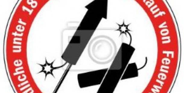 zákaz odpalování petard a ohňostrojů bez písemného povolení