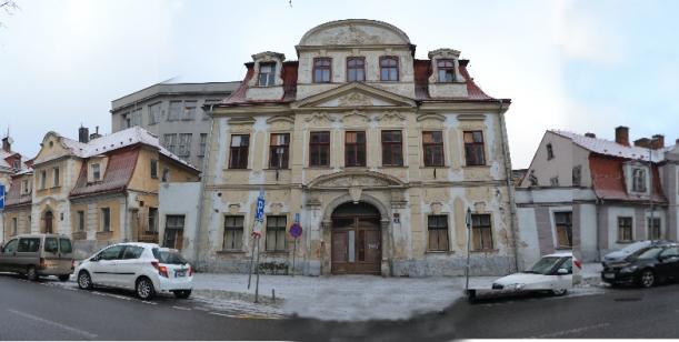 Nesouhlas s demolicí budov bývalé tiskárny v Liberci, na ulici 8.března.