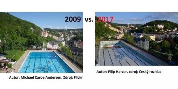 Petice za obnovení provozu bazénu Thermal Karlovy Vary pro veřejnost