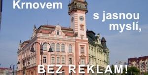 Petice proti záměru umístění reklamních poutačů na chodníky Krnova
