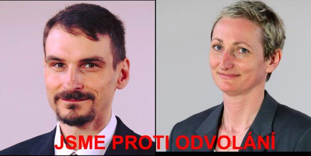 Nesouhlasíme s odvoláním starosty Jalovce a místostarostky Lickové