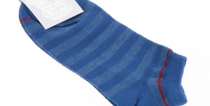 b1da9b61974 Modré ponožky