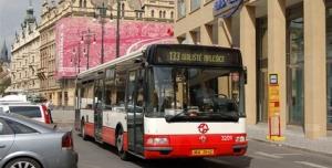 Autobus 133 zpět na trasu Malešice - Florenc