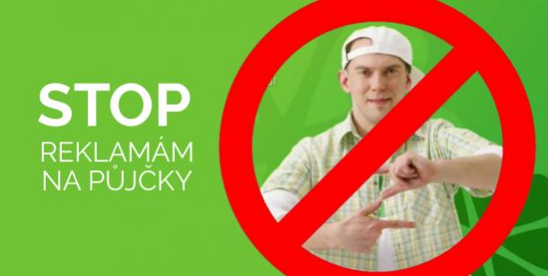 Stop reklamám na půjčky
