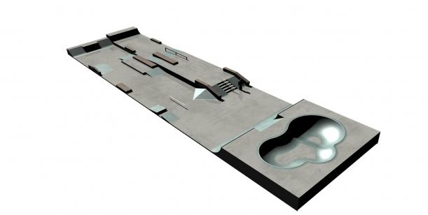 Za vybudování nového skateparku v Žatci a zachování jeho umístění na místě stávajícího