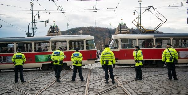 Dodržování nočního klidu v Praze 1