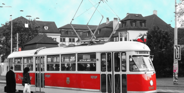 pro tramvaj Tatra T1 na linku 2