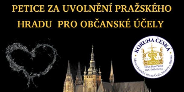 PETICE za uvolnění Pražského hradu pro občanské účely