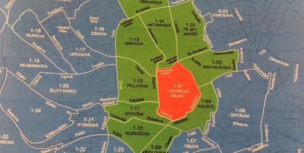 Nesouhlas se záměrem rezidentního parkování ve městě Brně (záměr publikovaný 20. 3. 2019)