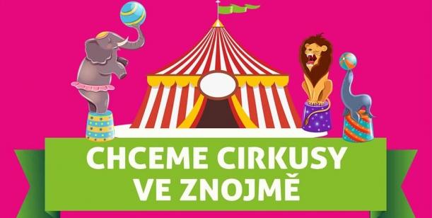 Petice proti zákazu cirkusů na městských pozemcích