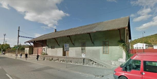 Zachování historické budovy nádražního skladiště Radotín.