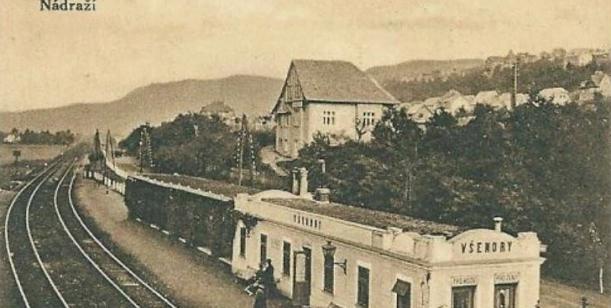 Záchrana původních budov z počátku 20. století v prostoru železniční zastávky ve Všenorech