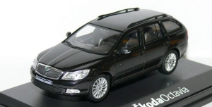 Petice za model Škoda Octavia Combi (facelift 2008) (Black Magic) 1/43