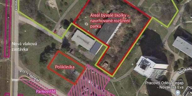 Za výstavbu polikliniky na vhodnějším místě a vybudování velkého parku pro Neratovice