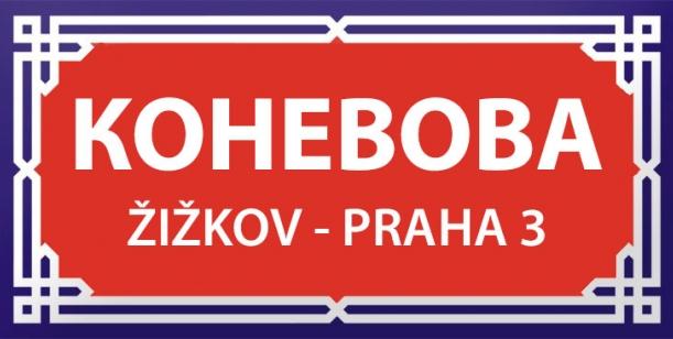 Petice za přejmenování Koněvovy ulice na Žižkově