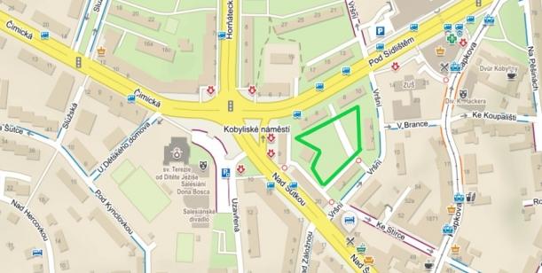 Petice za zelený vnitroblok u Kobyliského náměstí v Praze 8