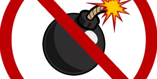 Petice proti neefektivnímu boji s bombami na VŠE