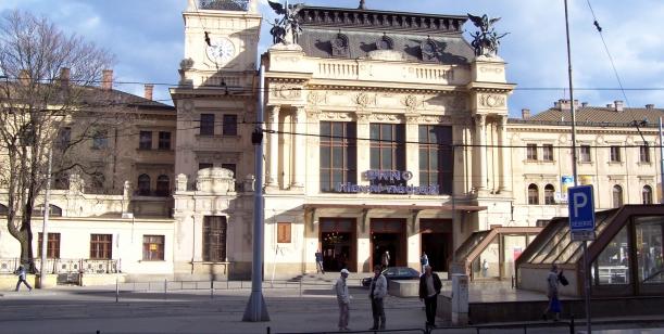 O brněnském nádraží