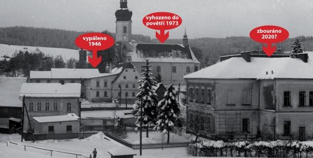 Petice za zachování budovy bývalé školy v Brtníkách