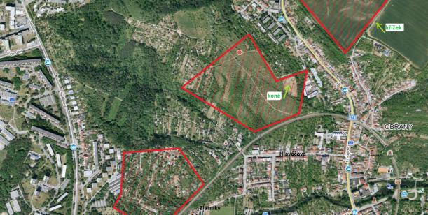 Změna územního plánu v Obřanech