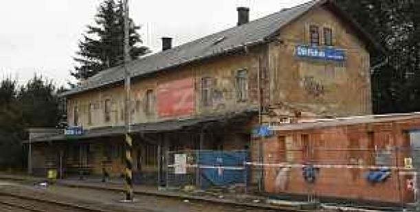 Za zachování budovy vlakového nádraží Dėtřichov nad Bystřicí