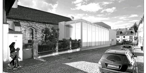 Proti přístavbě nové budovy k rakovnické synagoze.