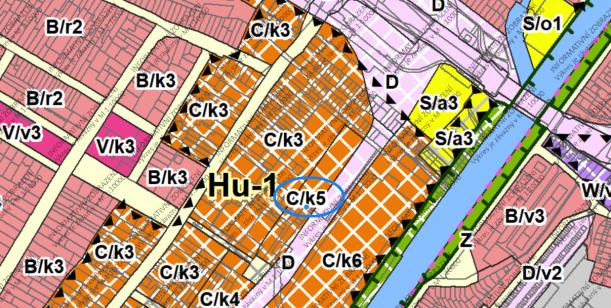 Změna územního plánu Nová Dukelská - Husovice