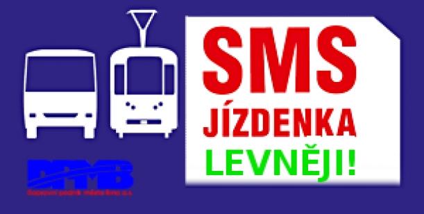 Širší nabídka SMS jízdenek pro Brno (DPMP)