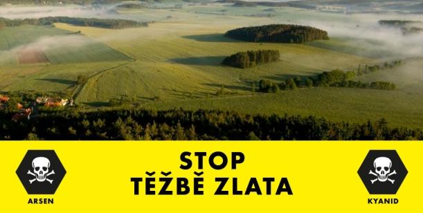 Petice proti zahájení těžby zlata u Mokrska