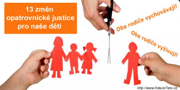 13 změn opatrovnické justice