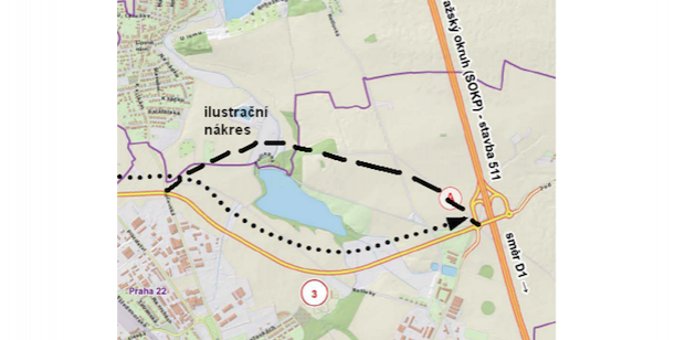 Petice za změnu trasy obchvatu Uhříněvsi