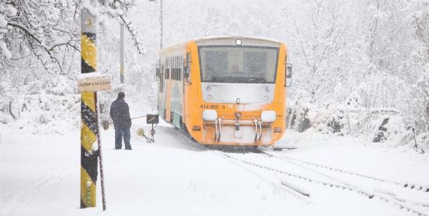 Petice za zachování železniční dopravy vOrlických horách
