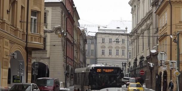 Návrh pro změnu trasy u linky 192