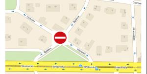 Za zrušení změn dopravního značení na rohu ulice Špálova a Východní